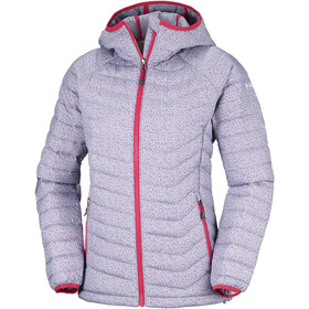 Columbia Powder Lite Hooded Jacket Women astral tweed